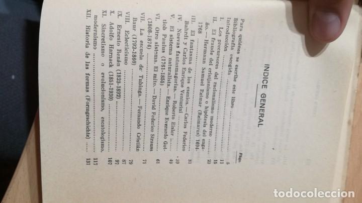 Libros de segunda mano: LA PERSONA DE JESUS ANTE LA CRITICA LIBERAL PROTESTANTE Y RACIONALISTA - SEVERIANO DEL PARAMO - Foto 4 - 177837672