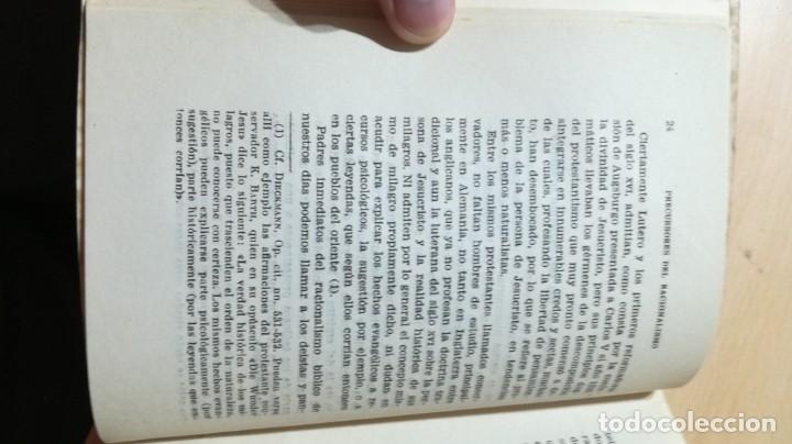Libros de segunda mano: LA PERSONA DE JESUS ANTE LA CRITICA LIBERAL PROTESTANTE Y RACIONALISTA - SEVERIANO DEL PARAMO - Foto 8 - 177837672