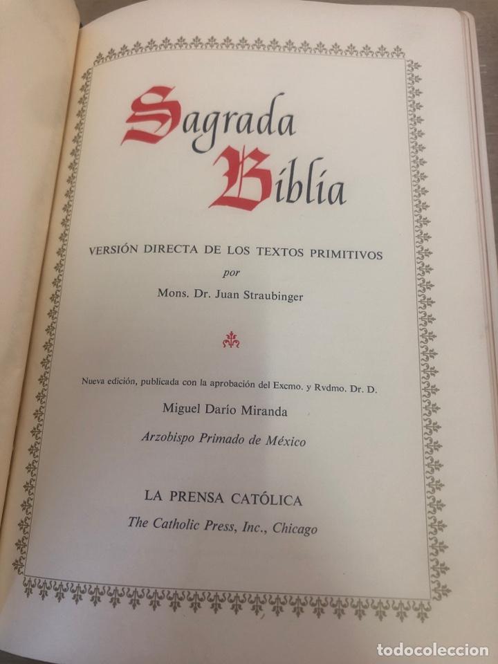 Libros de segunda mano: Sagrada Biblia - Foto 4 - 177989612