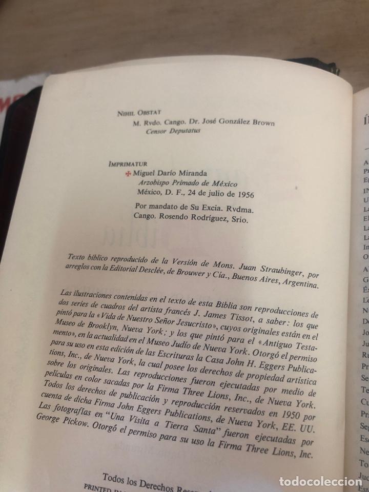 Libros de segunda mano: Sagrada Biblia - Foto 5 - 177989612