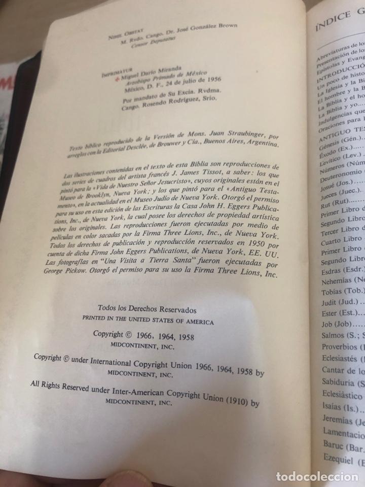Libros de segunda mano: Sagrada Biblia - Foto 6 - 177989612