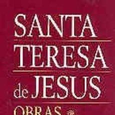 Libros de segunda mano: OBRAS COMPLETAS DE SANTA TERESA DE JESÚS. - SANTA TERESA DE JESÚS.. Lote 178018000