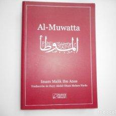Libros de segunda mano: IMAN MALIK IBN ANAS AL- MUWATTA Y96298. Lote 178107972