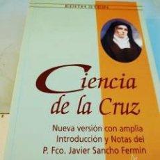 Libros de segunda mano: CIENCIA DE LA CRUZ EDITH STEIN. Lote 178364383