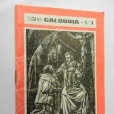 Libros de segunda mano: LA PENITENCIA, NORMAS SOBRE EL NUEVO RITUAL - TEMAS GALDURIA Nº 1 - JODAR-JAÉN 1975. . Lote 178600628