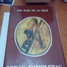 Libros de segunda mano: SAN JUAN DE LA CRUZ. OBRAS COMPLETAS. EST3B4. Lote 178600907