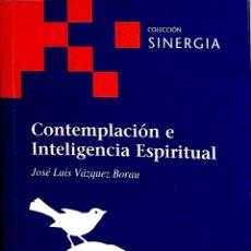 Libros de segunda mano: CONTEMPLACIÓN E INTELIGENCIA ESPIRITUAL - JOSÉ LUIS VÁZQUEZ BORAU - FUNDACIÓN EMMANUEL MOUNIER - SIN. Lote 178698455