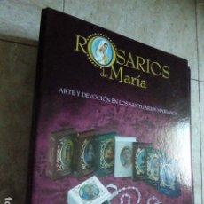 Libros de segunda mano: COLECCION ROSARIOS DE MARIA. SALVAT. 54 PRIMEROS FASCÍCULOS CON SU ARCHIVADOR. . Lote 178755896