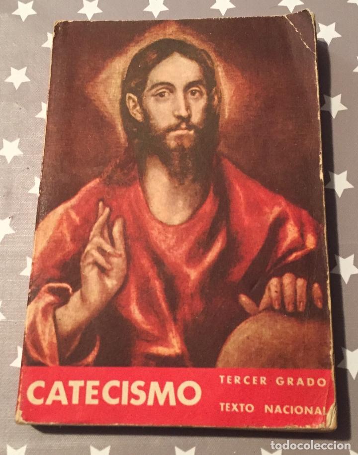 CATECISMO TERCER GRADO (Libros de Segunda Mano - Religión)