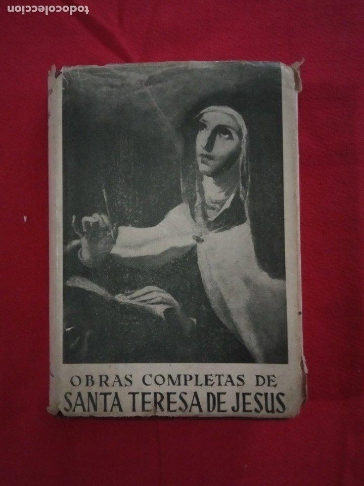 SANTA TERESA DE JESÚS. OBRAS COMPLETAS. (Libros de Segunda Mano - Religión)