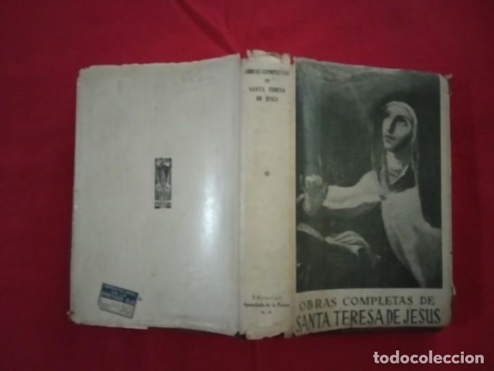 Libros de segunda mano: SANTA TERESA DE JESÚS. Obras Completas. - Foto 2 - 179088257