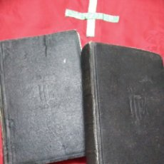 Libros de segunda mano: MEDITACIONES DE LOS MISTERIOS... LA PUENTE. 2 TOMOS. AP. PRENSA. 1935.. Lote 179102778