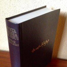 Libros de segunda mano: SANTA TERESA DE JESÚS OBRAS COMPLETAS COLECCIÓN OBRAS ETERNAS EDITORIAL AGUILAR. Lote 179118010