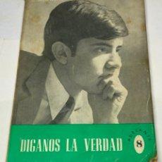 Libros de segunda mano: DÍGANOS LA VERDAD, CLEMENTE PEREIRA. Lote 179143480