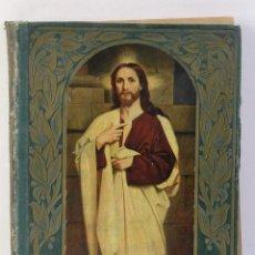 Libros de segunda mano: VIDA DE NUESTRO SEÑOR JESUCRISTO EN 80 LÁMINAS EN COLORES-W.HOLE. Lote 179197326