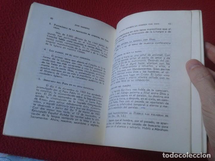 Libros de segunda mano: LIBRO DIDÁCTICA DE LA LITURGIA DE LA MISA JUAN MARQUÉS 1965 EDITORIAL MAGISTERIO ESPAÑOL VER FOTOS - Foto 3 - 179217563