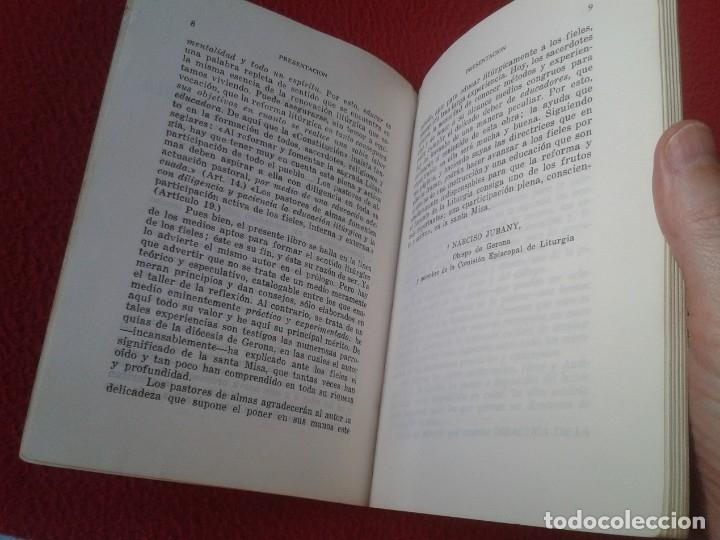 Libros de segunda mano: LIBRO DIDÁCTICA DE LA LITURGIA DE LA MISA JUAN MARQUÉS 1965 EDITORIAL MAGISTERIO ESPAÑOL VER FOTOS - Foto 5 - 179217563