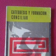Libros de segunda mano: LIBRO CATEQUESIS Y FORMACIÓN CONCILIAR PPC 2 ADOLESCENTES Y JÓVENES CARLOS GODOY 1966 VER FOTOS .... Lote 179218031