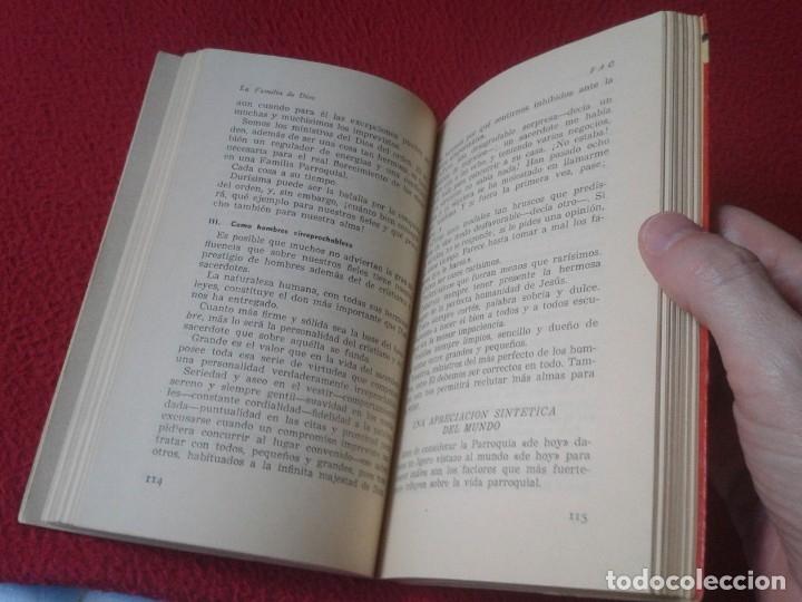 Libros de segunda mano: LIBRO LA FAMILIA DE DIOS FRATERNO AIUTO CRISTIANO FAC MUNDO MEJOR EURAMERICA 1958 2ª EDICIÓN. VER FO - Foto 3 - 179218413