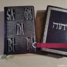 Libros de segunda mano: SAGRADA BIBLIA EDICIÓN DE LUJO ELOINO NACAR Y ALBERTO COLUNGA 1960. Lote 179235108