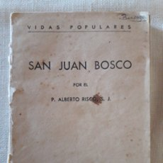 Libros de segunda mano: SAN JUAN BOSCO.. Lote 179321907