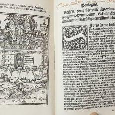 Libros de segunda mano: AUREA EXPOSITIO HYMNORUN ANTONIO DE NEBRIJA ,,FACSIMIL.. Lote 179324411