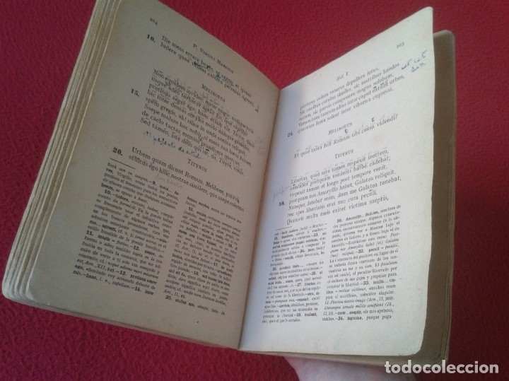 Libros de segunda mano: LIBRO FLORILEGIO LATINO VOLUMEN TERCERO 1950 JESÚS PEDRAZ, S. J. QUINTA EDICIÓN EDITORIAL SAL TERRAE - Foto 6 - 179375845