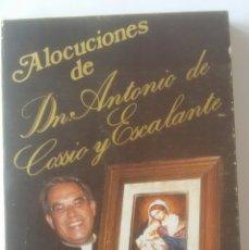 Libros de segunda mano: ALOCUCIONES POR ANTONIO DE COSSIO Y ESCALANTE.. Lote 179390661