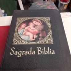 Libros de segunda mano: 1972 SAGRADA BIBLIA LA PRENSA CATÓLICA MIGUEL DARÍO MIRANDA. Lote 179400988