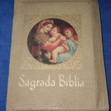 Libros de segunda mano: SAGRADA BIBLIA - MONSEÑOR DR. JUAN STRAUBINGER - LA PRENSA CATÓLICA (1974). Lote 179558376