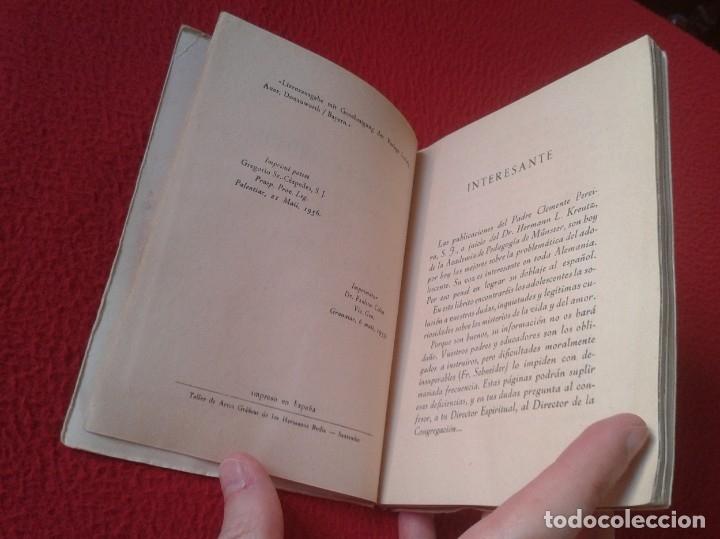 Libros de segunda mano: LIBRO DÍGANOS LA VERDAD SOBRE LOS MISTERIOS DE LA VIDA Y DEL AMOR CLEMENTE PEREIRA 1955 110 PÁGINAS - Foto 4 - 179957718