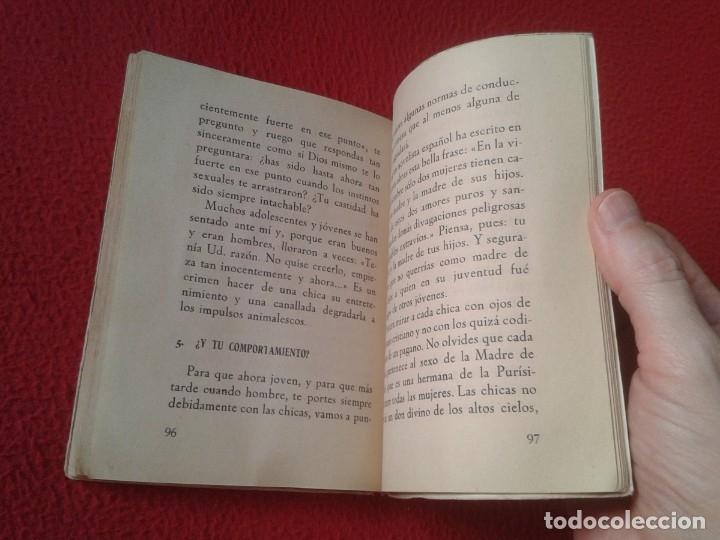 Libros de segunda mano: LIBRO DÍGANOS LA VERDAD SOBRE LOS MISTERIOS DE LA VIDA Y DEL AMOR CLEMENTE PEREIRA 1955 110 PÁGINAS - Foto 6 - 179957718