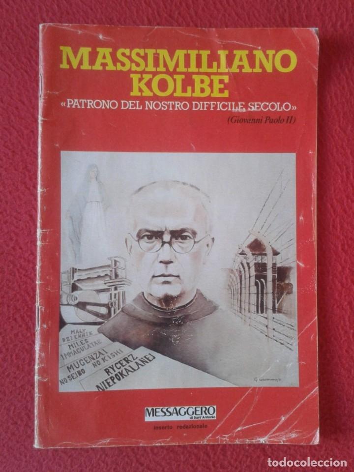 REVISTA MAGAZINE O SIMIL MASSIMILIANO KOLBE GIOVANNI PAOLO II PAPA JUAN PABLO AUSCHWITZ HITLER...VER (Libros de Segunda Mano - Religión)