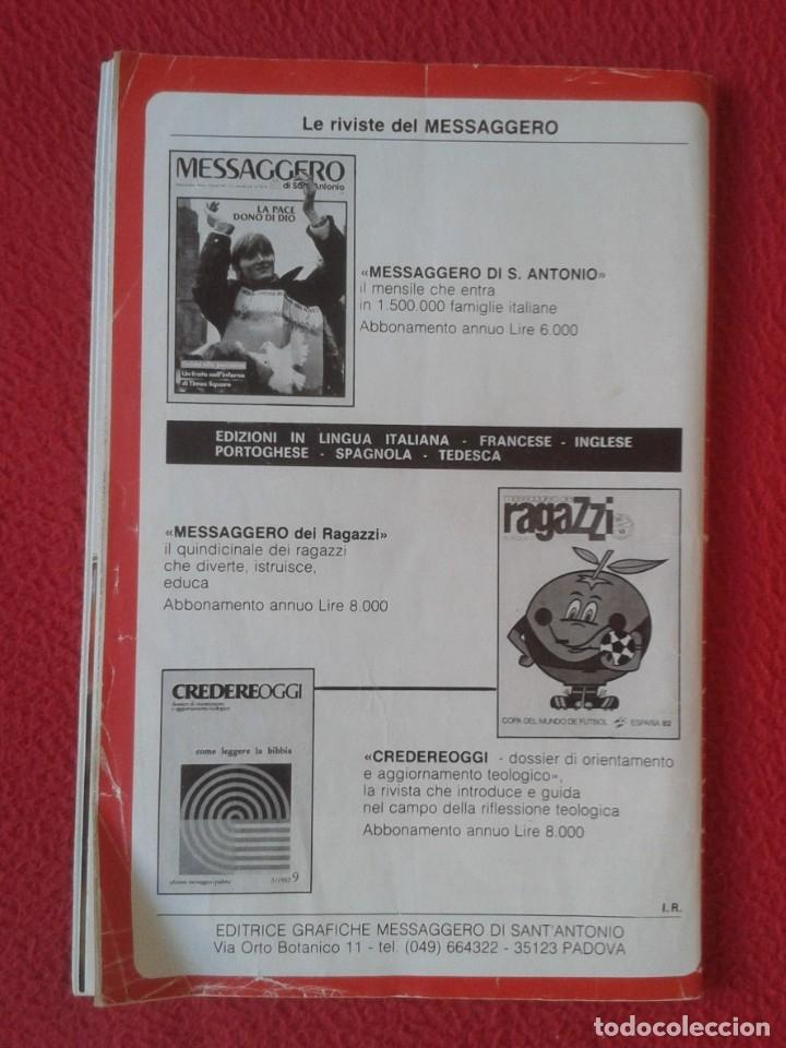 Libros de segunda mano: REVISTA MAGAZINE O SIMIL MASSIMILIANO KOLBE GIOVANNI PAOLO II PAPA JUAN PABLO AUSCHWITZ HITLER...VER - Foto 2 - 180011165