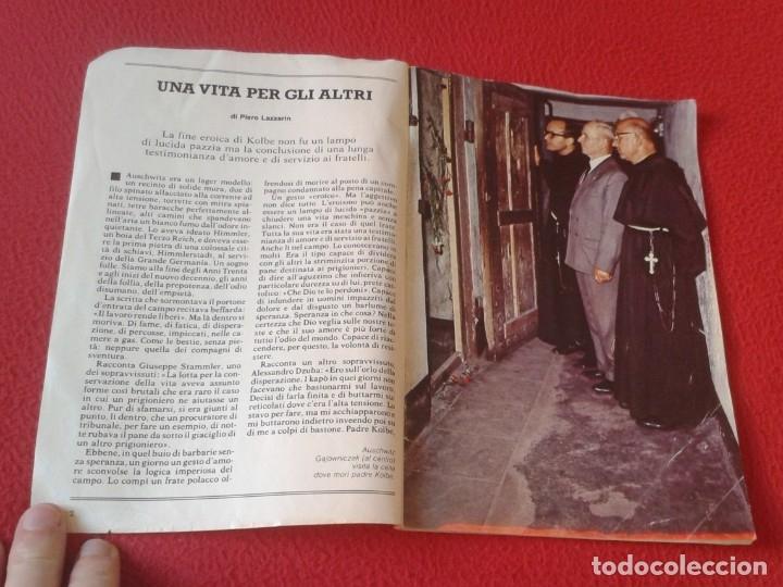 Libros de segunda mano: REVISTA MAGAZINE O SIMIL MASSIMILIANO KOLBE GIOVANNI PAOLO II PAPA JUAN PABLO AUSCHWITZ HITLER...VER - Foto 3 - 180011165