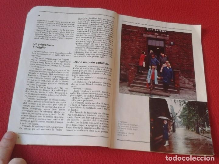 Libros de segunda mano: REVISTA MAGAZINE O SIMIL MASSIMILIANO KOLBE GIOVANNI PAOLO II PAPA JUAN PABLO AUSCHWITZ HITLER...VER - Foto 4 - 180011165