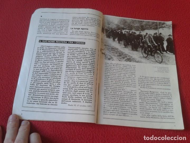 Libros de segunda mano: REVISTA MAGAZINE O SIMIL MASSIMILIANO KOLBE GIOVANNI PAOLO II PAPA JUAN PABLO AUSCHWITZ HITLER...VER - Foto 5 - 180011165