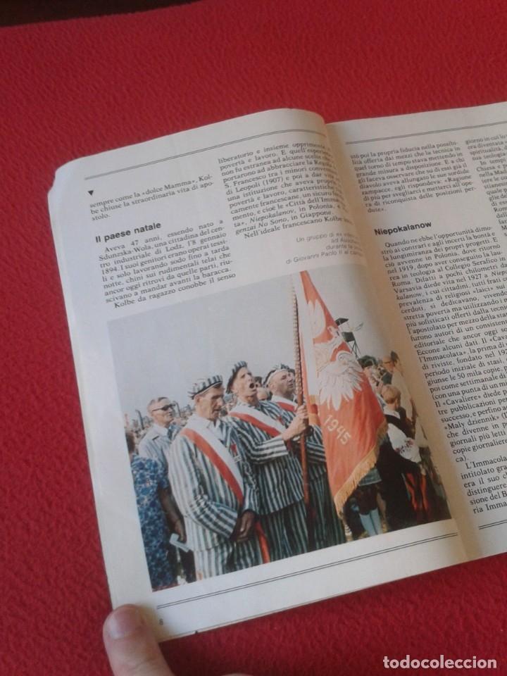 Libros de segunda mano: REVISTA MAGAZINE O SIMIL MASSIMILIANO KOLBE GIOVANNI PAOLO II PAPA JUAN PABLO AUSCHWITZ HITLER...VER - Foto 6 - 180011165