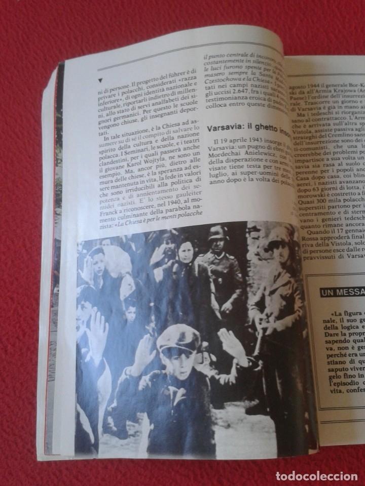 Libros de segunda mano: REVISTA MAGAZINE O SIMIL MASSIMILIANO KOLBE GIOVANNI PAOLO II PAPA JUAN PABLO AUSCHWITZ HITLER...VER - Foto 9 - 180011165