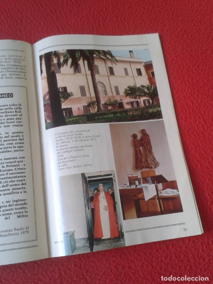 Libros de segunda mano: REVISTA MAGAZINE O SIMIL MASSIMILIANO KOLBE GIOVANNI PAOLO II PAPA JUAN PABLO AUSCHWITZ HITLER...VER - Foto 10 - 180011165