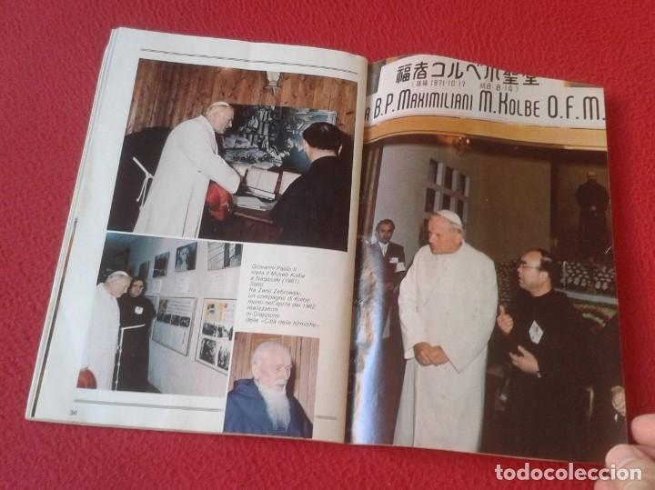 Libros de segunda mano: REVISTA MAGAZINE O SIMIL MASSIMILIANO KOLBE GIOVANNI PAOLO II PAPA JUAN PABLO AUSCHWITZ HITLER...VER - Foto 12 - 180011165