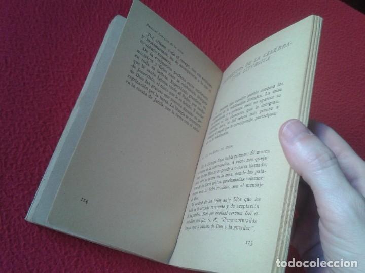 Libros de segunda mano: LIBRO PASTORAL LITÚRGICA DE LA MISA CASIMIRO SÁNCHEZ ALISEDA 1958 COLECCIÓN MUNDO MEJOR EURAMERICA - Foto 5 - 180013225