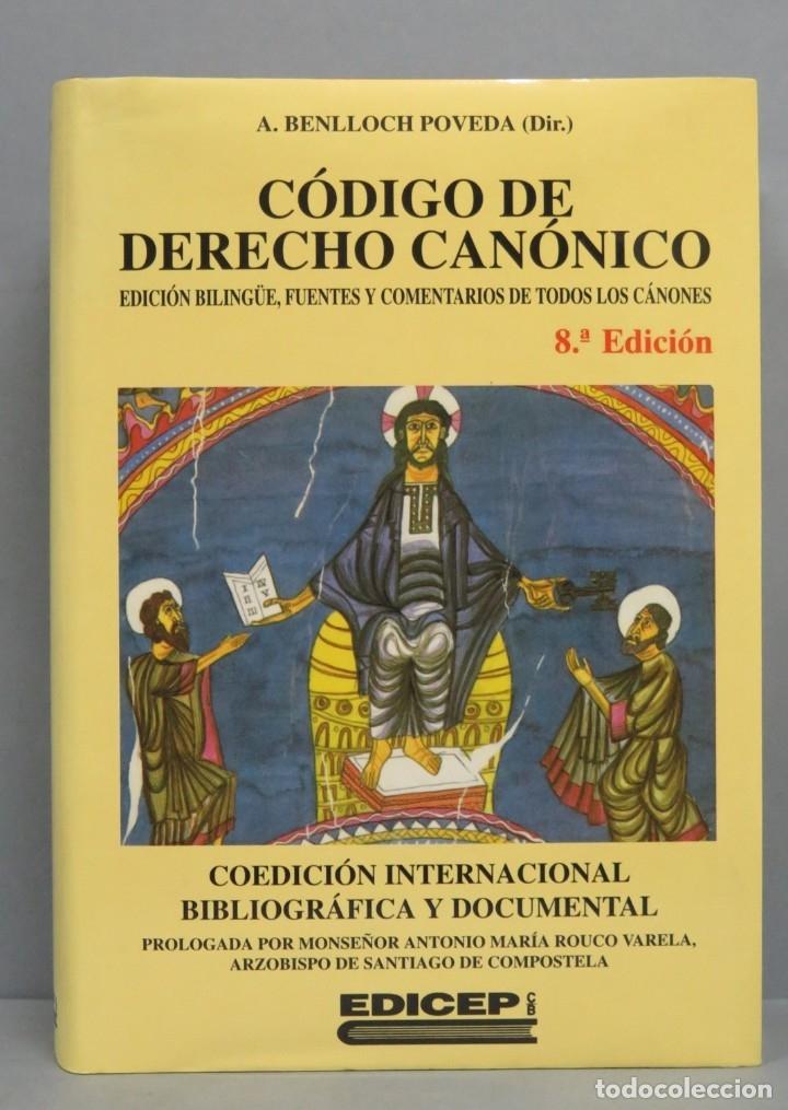 CODIGO DE DERECHO CANONICO. BENLLOCH POVEDA (DIR.) (Libros de Segunda Mano - Religión)