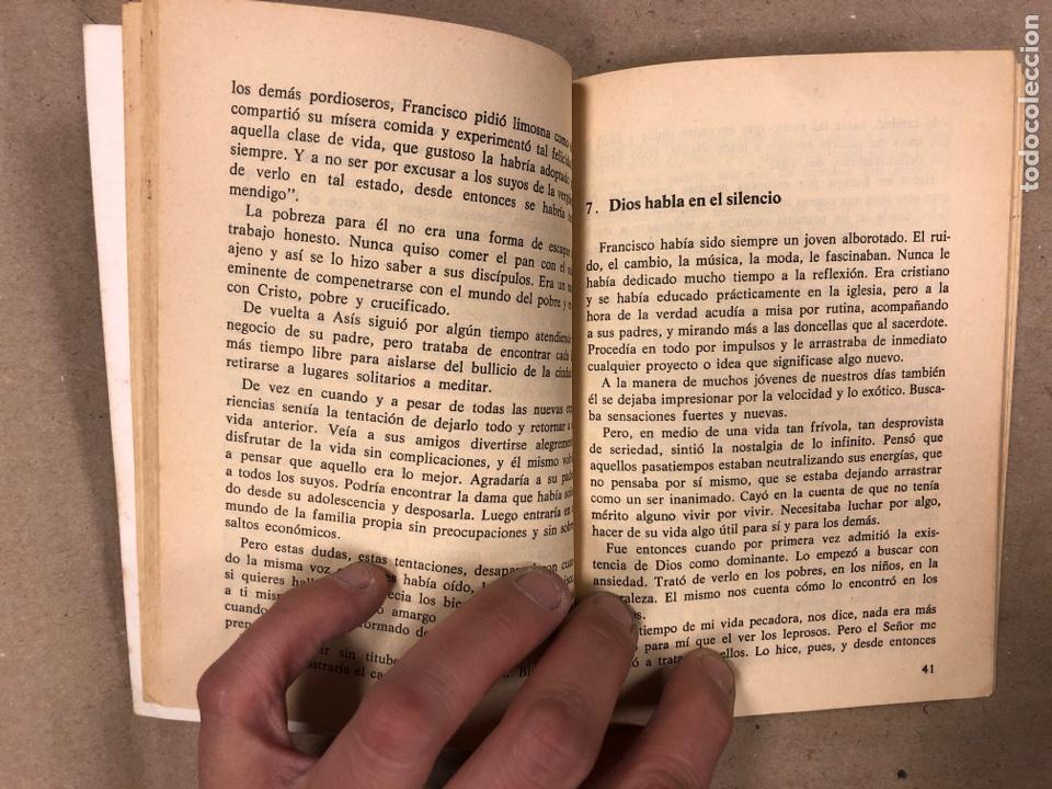 Libros de segunda mano: FRANCISCO DE ASÍS. MANUEL DIAZ ÁLVAREZ. EDICIONES PAULINAS 1982. 141 PÁGINAS. - Foto 4 - 180119131