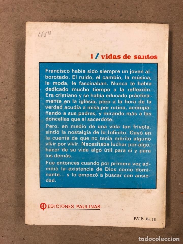 Libros de segunda mano: FRANCISCO DE ASÍS. MANUEL DIAZ ÁLVAREZ. EDICIONES PAULINAS 1982. 141 PÁGINAS. - Foto 6 - 180119131