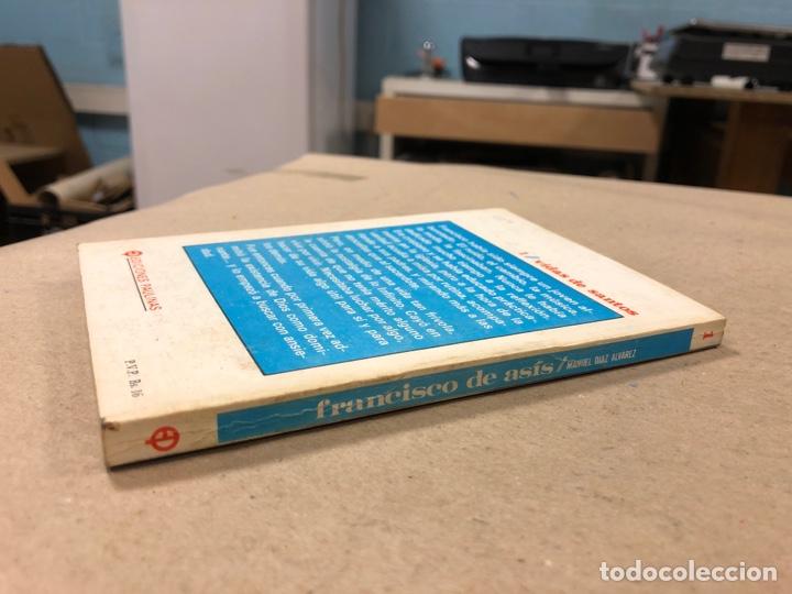 Libros de segunda mano: FRANCISCO DE ASÍS. MANUEL DIAZ ÁLVAREZ. EDICIONES PAULINAS 1982. 141 PÁGINAS. - Foto 7 - 180119131