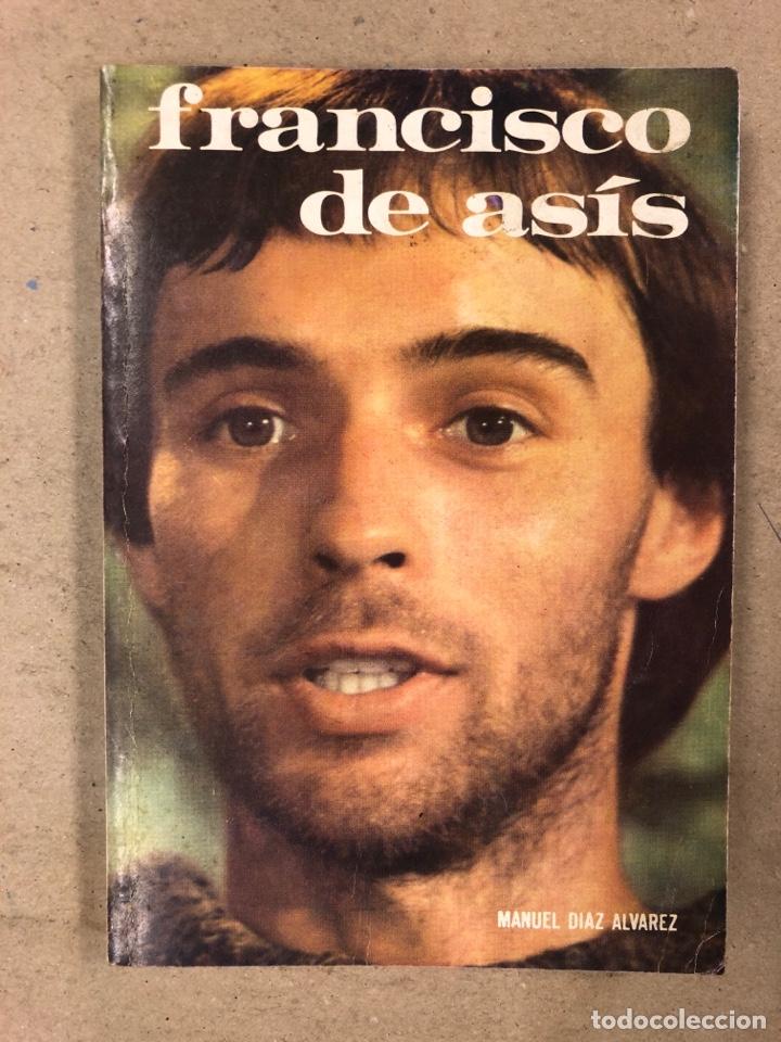 FRANCISCO DE ASÍS. MANUEL DIAZ ÁLVAREZ. EDICIONES PAULINAS 1982. 141 PÁGINAS. (Libros de Segunda Mano - Religión)