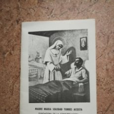 Libros de segunda mano: MADRE MARÍA SOLEDAD TORRES ACOSTÁ. Lote 180155966