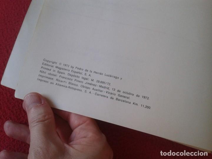 Libros de segunda mano: LIBRO VERDAD Y VIDA 6 1972 LIBRO DEL PROFESOR EDITORIAL MAGISTERIO ESPAÑOL, S. A. PEDRO DE LA HERRÁN - Foto 3 - 180163140