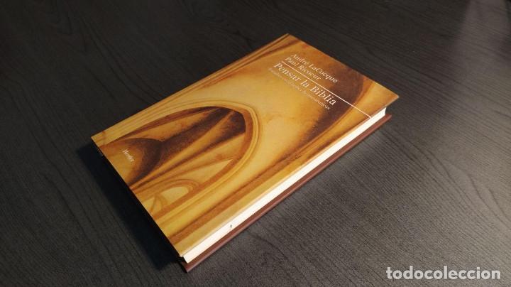 Libros de segunda mano: Pensar La Biblia: Estudios Exegeticos Andre LaCocque,Paul Ricoeur HERDER - Foto 9 - 180416667